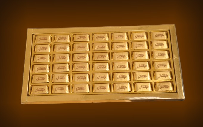 transparent box gianduiotti 420 gr